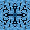 Abstrakcyjny wzór kwiatów | Stock Vector Graphics