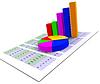 Indica el gráfico de sectores Gráficos STAT y Infochart | Ilustración