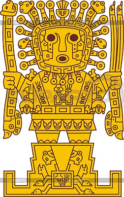 Inca Viracocha | Stock Vector Graphics | CLIPARTO