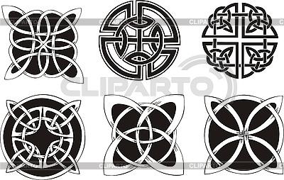 Knot Decoration Dingbats | Klipart wektorowy |ID 3000307