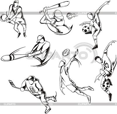 ... виды спорта | Векторный клипарт | CLIPARTO: клипарт.рф/изображение/3348172...
