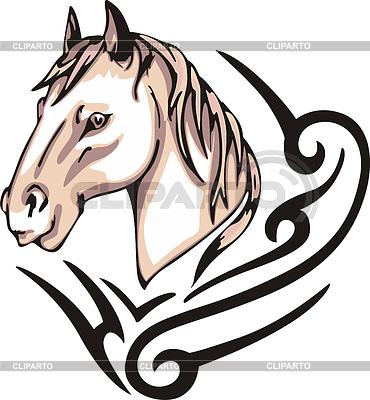 Pferd-Tattoo | Stock Vektorgrafik |ID 3367963