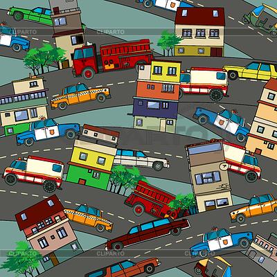 Besetzt Stadt | Illustration mit hoher Auflösung |ID 3820864