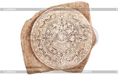 Alten aztekischen Kalender | Foto mit hoher Auflösung |ID 3910169