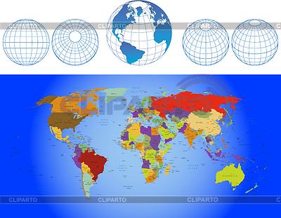 карты векторный клипарт: