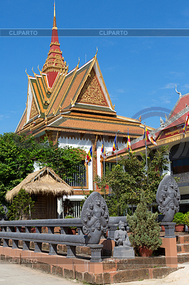 Szene in Royal Palast, Kambodscha | Foto mit hoher Auflösung |ID 3722602