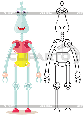 Lustiger Roboter | Stock Vektorgrafik |ID 3815117