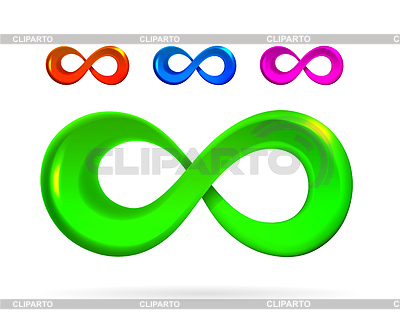 Symbol of infinity | Klipart wektorowy |ID 3881136