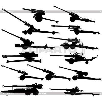 Moderne Artillerie- | Stock Vektorgrafik |ID 3714620