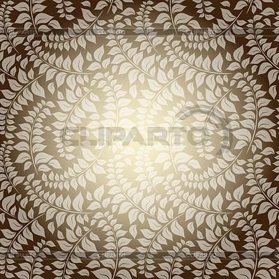 Jednolite wzór z rocznika liści | Klipart wektorowy |ID 3922354