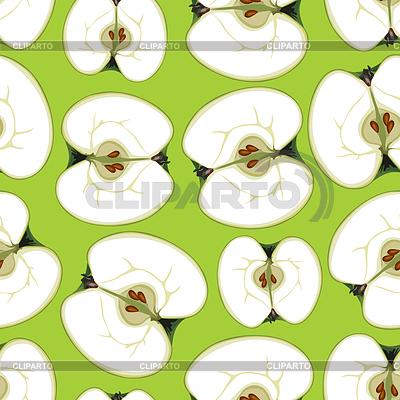 Мультяшное яблоко | Фото большого размера и векторный ... Зеленое Яблоко Клипарт