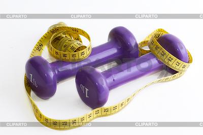 Gewichte mit Meter | Foto mit hoher Auflösung |ID 3720619