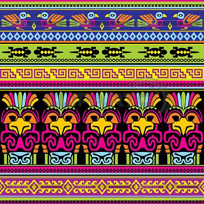 Мексиканский орнамент узор