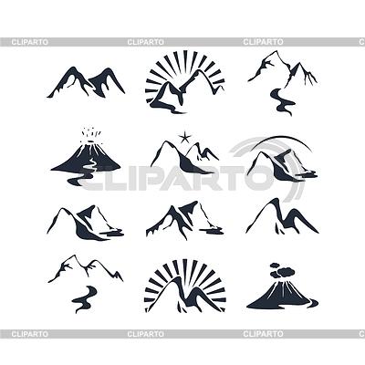 Mountains Set | Stock Vektorgrafik |ID 3902162