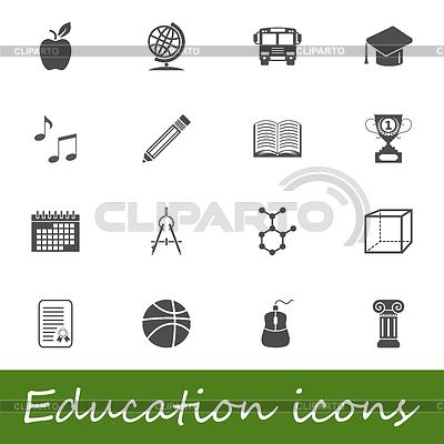 Bildung-Icons | Stock Vektorgrafik |ID 3889321