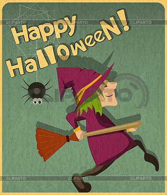 Halloween-Hexe | Stock Vektorgrafik |ID 3910895