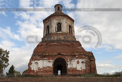 Ruined church in Gari village, Russia | 높은 해상도 사진 |ID 3721210