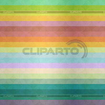 Abstrakter Hintergrund mit bunten Streifen und Wellen | Stock Vektorgrafik |ID 3778368