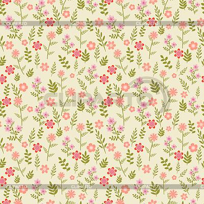 Seamless floral Muster mit rosa Blumen | Foto mit hoher Auflösung |ID 3778395