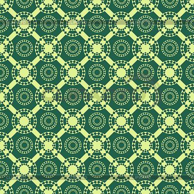 Nahtlose abstrakte Muster mit Kreisen und Rauten | Stock Vektorgrafik |ID 3778588