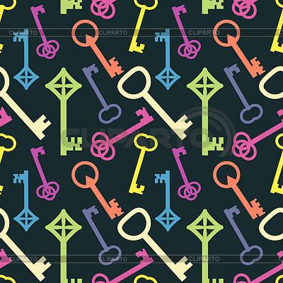 Keys Muster | Stock Vektorgrafik |ID 3850908