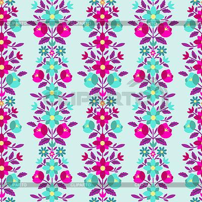 Nahtloses Blumenmuster | Illustration mit hoher Auflösung |ID 3861328
