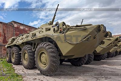 Kołowa ziemnowodny transporter opancerzony BTR-80 | Foto stockowe wysokiej rozdzielczości |ID 3771254