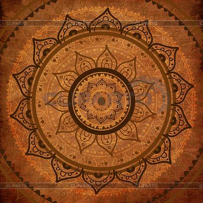 Mandala. Indian dekoracyjny wzór | Stockowa ilustracja wysokiej rozdzielczości |ID 3819978