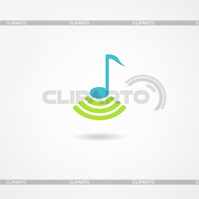 Ikona muzyki | Stockowa ilustracja wysokiej rozdzielczości |ID 3893316