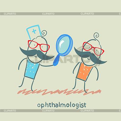 Augenarzt | Stock Vektorgrafik |ID 3924474