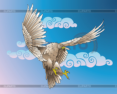 Flying Eagle | Stock Vektorgrafik |ID 3997728