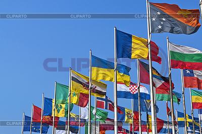 다른 나라의 국립 국기 | 높은 해상도 사진 |ID 3870740