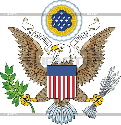 US eagle | Klipart wektorowy |ID 3898580