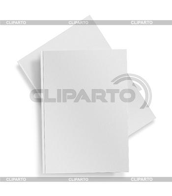 Puste białe książka | Foto stockowe wysokiej rozdzielczości |ID 3839077
