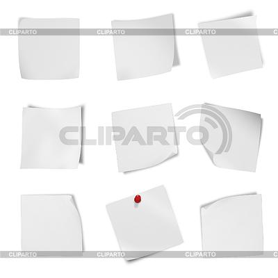 Kolekcja różnych ulotka puste białej księgi | Foto stockowe wysokiej rozdzielczości |ID 3839079