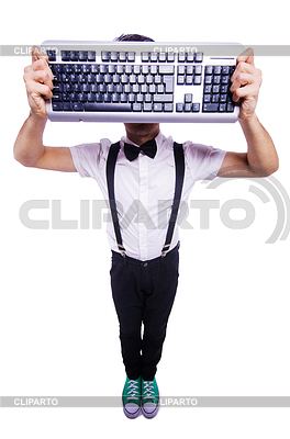 Lustiger Computer-Aussenseiter | Foto mit hoher Auflösung |ID 3751812