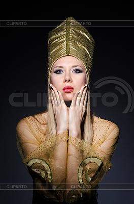 Молодая модель в олицетворение красоты египетские | Фото большого размера |ID 3752159