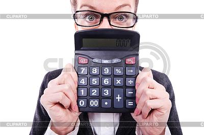 Смешные бухгалтера с калькулятором | Фото большого размера |ID 3776218