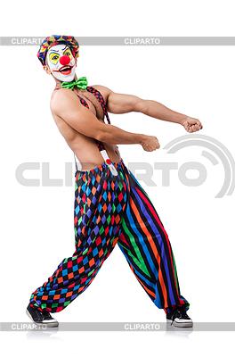 Zabawna Klaun | Foto stockowe wysokiej rozdzielczości |ID 3863182