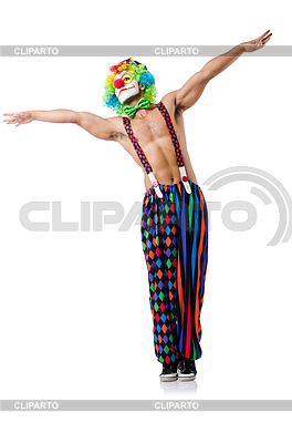 Zabawna Klaun | Foto stockowe wysokiej rozdzielczości |ID 3871032