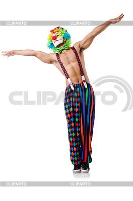 Забавный клоун | Фото большого размера |ID 3871032