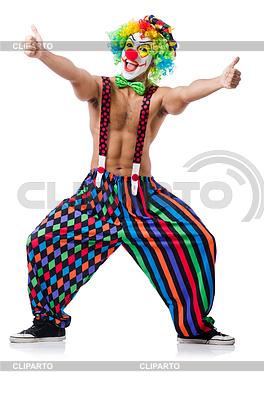 Забавный клоун | Фото большого размера |ID 3871034