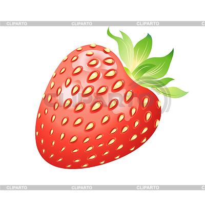 Realistische köstliche reife Erdbeeren | Illustration mit hoher Auflösung |ID 3720828