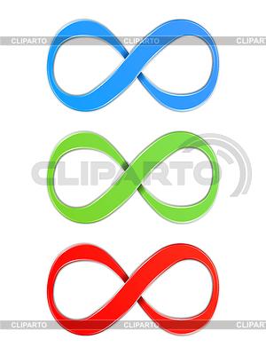 Infinity-Symbole | Stock Vektorgrafik |ID 3809148