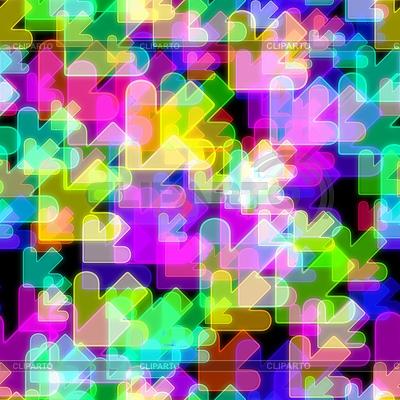 Neon bez szwu tła abstrakcyjna | Stockowa ilustracja wysokiej rozdzielczości |ID 3892499