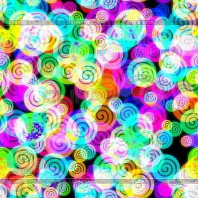 Neon bez szwu tła abstrakcyjna | Stockowa ilustracja wysokiej rozdzielczości |ID 3892508