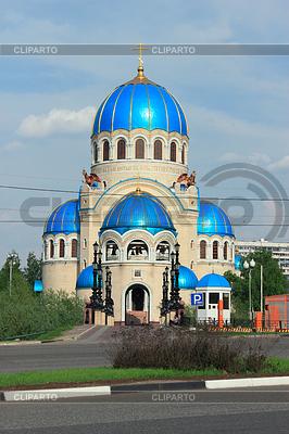 Tempel der Heiligen Dreifaltigkeit in Orekhovo-Borisovo | Foto mit hoher Auflösung |ID 3780291