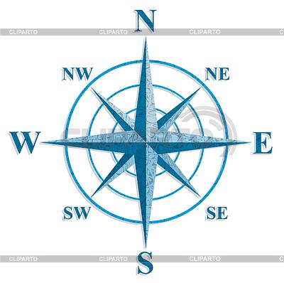 Windrose. Anmeldung auf alten Karten | Stock Vektorgrafik |ID 3722104