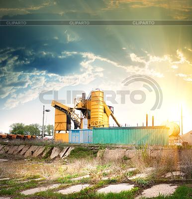 Getreidesilo | Foto mit hoher Auflösung |ID 3768572