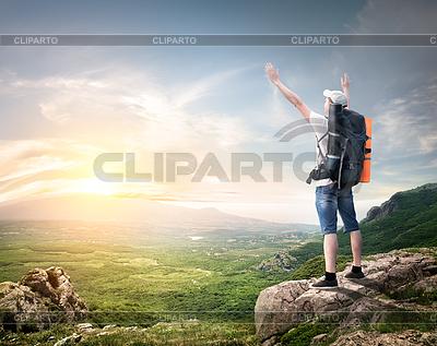 Plecak turystyczny | Foto stockowe wysokiej rozdzielczości |ID 3844646
